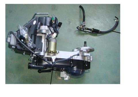 4-Takt Motor (152-QMI) 125 ccm - Austausch-Motor