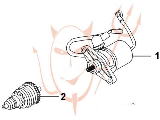 Alisze - Jazy 50 CDI (YY50QT-21) - Anlasser