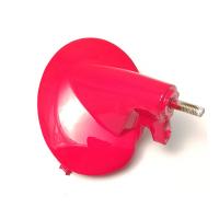 Kunststoff-Halterung für Blinker v.r., Rot