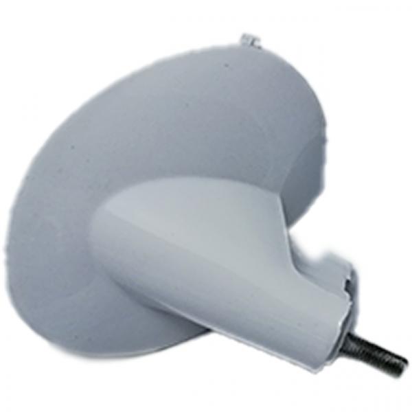 Kunststoff-Halterung für Blinker v.l., Weiß