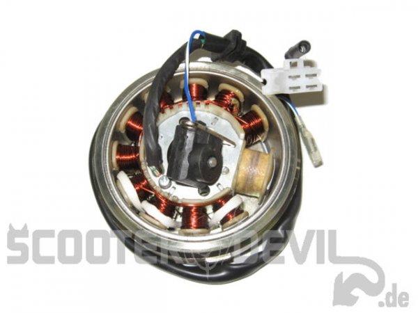 Lichtmaschine kompl. mit Polrad (125 ccm Benzhou)