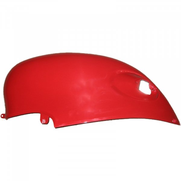 Verkleidung links, Rot (2-Sitzer)